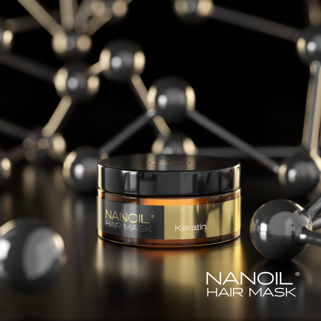 Nanoil Masken mit Keratin