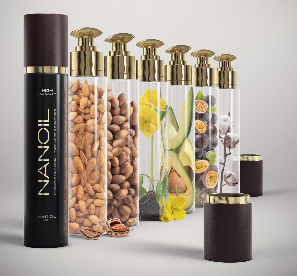 Haaröl für alle Haartypen - Nanoil